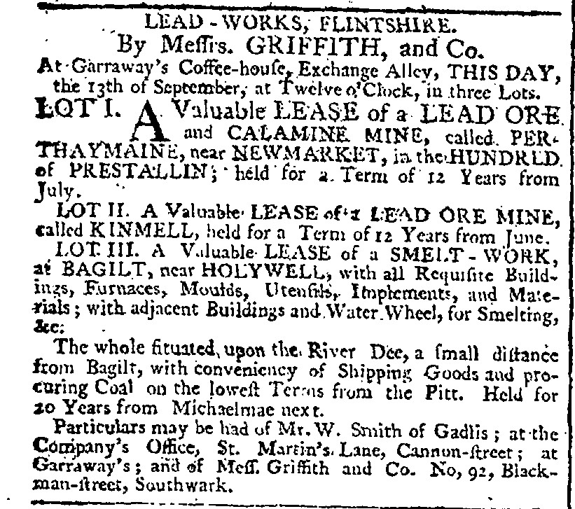 Early Industrialists In Flintshire